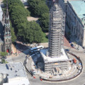 Safety Focus: Mt. Vernon Monument Scaffolding by JD Belfield