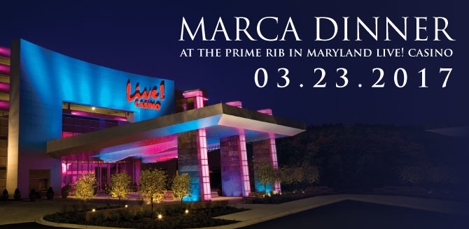 2017 Dinner at The Prime Rib at Maryland Live Casino