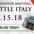 2018 Dinner in Little Italy