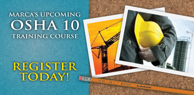 OSHA 10 Training Course 2015