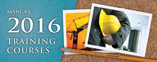 2016 Training Courses
