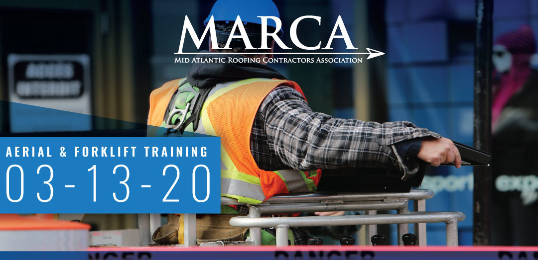 2020 Aerial and Forklift Training